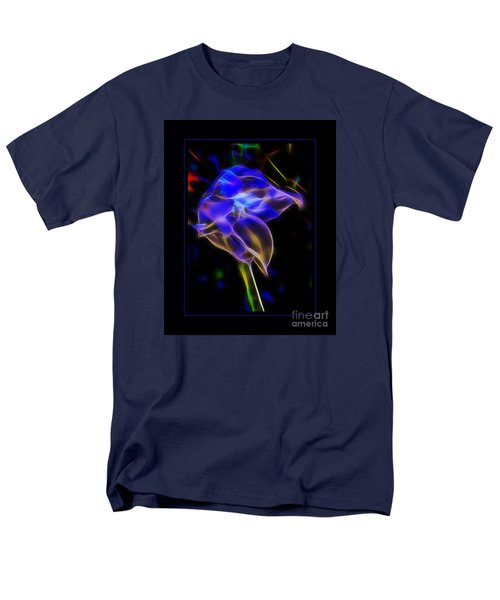 Vibrant Orchid Men's T-Shirt  (Regular Fit) by Darleen Stry