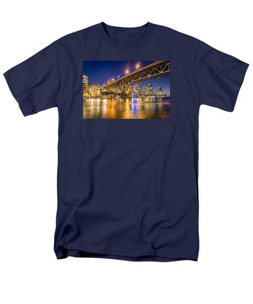 View At Granville Bridge Men's T-Shirt  (Regular Fit) by Sabine Edrissi