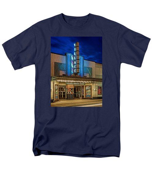 Village Theater Men's T-Shirt  (Regular Fit) by Jerry Gammon