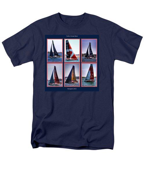 Volvo Ocean Race Newport 2015 Men's T-Shirt  (Regular Fit)