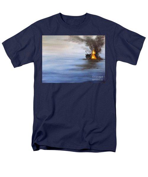 Water And Air Pollution Men's T-Shirt  (Regular Fit) by Annemeet Hasidi- van der Leij