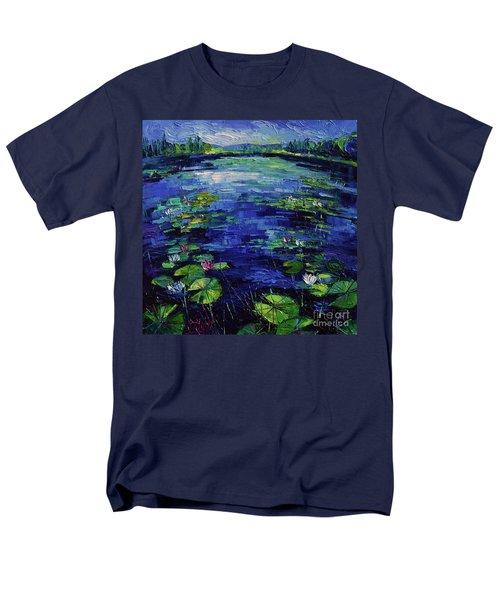 Water Lilies Magic Men's T-Shirt  (Regular Fit)