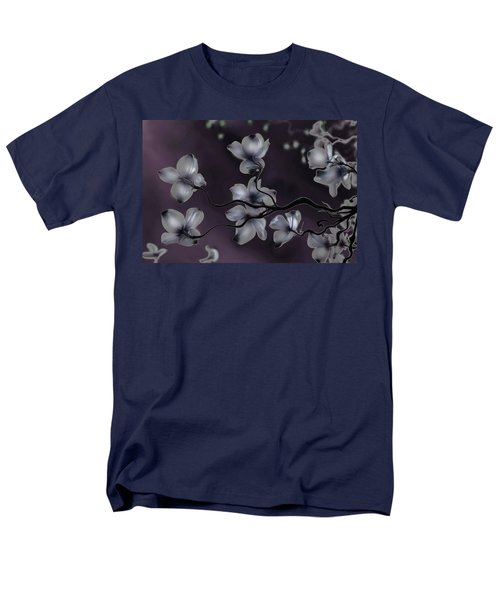 Men's T-Shirt  (Regular Fit) featuring the painting Wave Japanese Art by Gray  Artus
