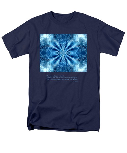 We Are What We Think Men's T-Shirt  (Regular Fit) by Kristen Fox