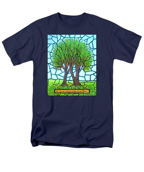 We Grow Closer As We Grow Older Men's T-Shirt  (Regular Fit) by Jim Harris