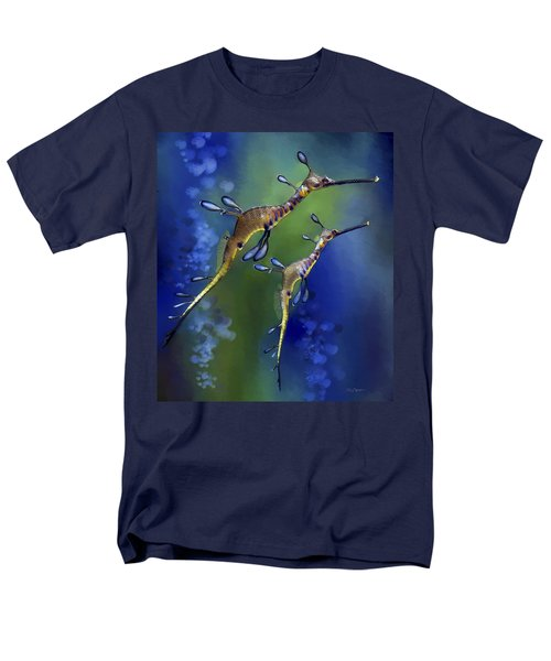 Weedy Sea Dragon Men's T-Shirt  (Regular Fit) by Thanh Thuy Nguyen