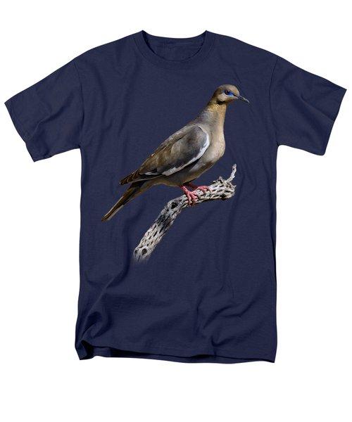 White-winged Dove V53 Men's T-Shirt  (Regular Fit) by Mark Myhaver