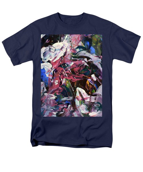 Wild Orchid Abstract Men's T-Shirt  (Regular Fit) by Erika Pochybova