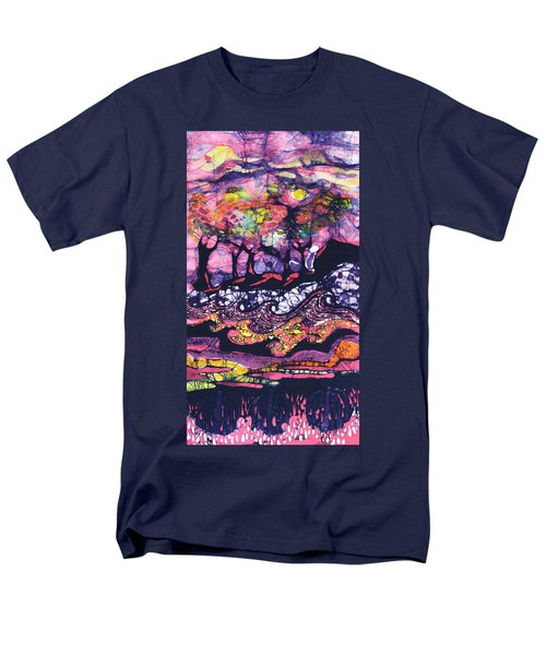 Wind And Waves Men's T-Shirt  (Regular Fit)
