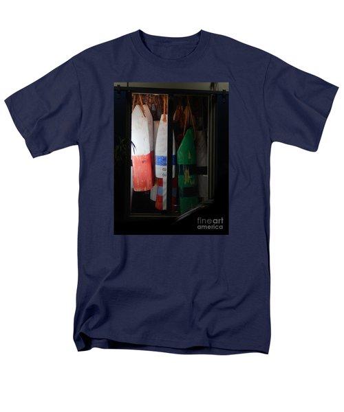 Window Buoys Key West Men's T-Shirt  (Regular Fit) by Expressionistart studio Priscilla Batzell