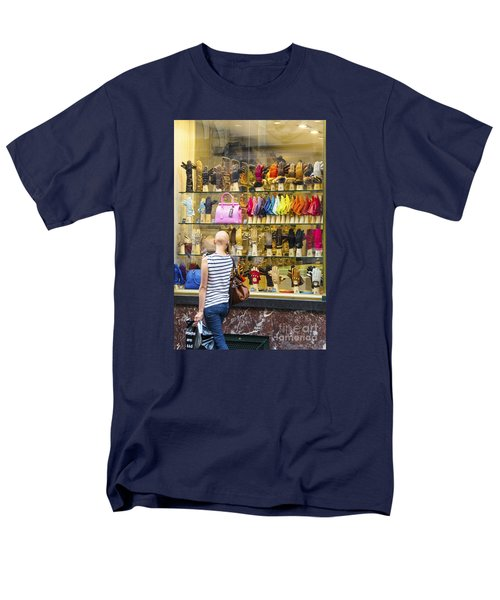 Men's T-Shirt  (Regular Fit) featuring the photograph Window Shopper by Pravine Chester