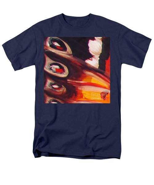 Men's T-Shirt  (Regular Fit) featuring the painting Wing Eyes by Art Ina Pavelescu
