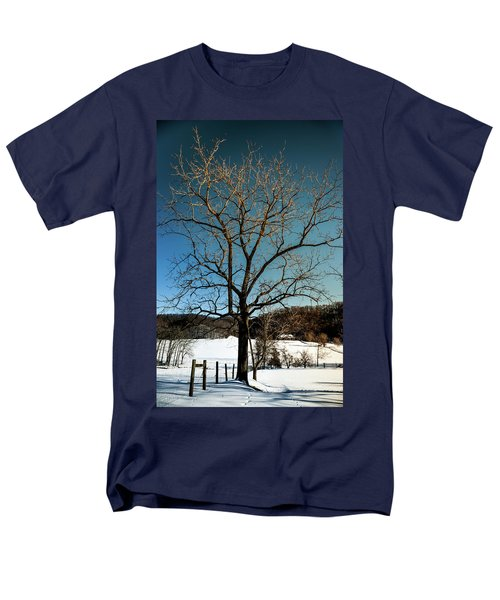 Winter Glow Men's T-Shirt  (Regular Fit) by Karen Wiles