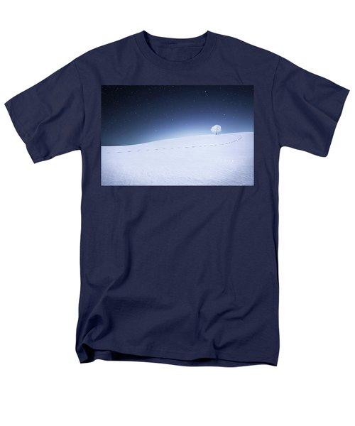Men's T-Shirt  (Regular Fit) featuring the photograph Winter Landscape by Bess Hamiti