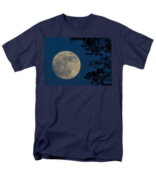 Winter Moon Men's T-Shirt  (Regular Fit) by Randy Hall