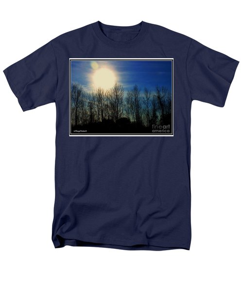 Winter Morning Men's T-Shirt  (Regular Fit) by MaryLee Parker
