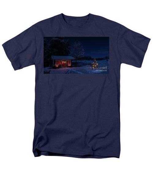 Men's T-Shirt  (Regular Fit) featuring the photograph Winter Night by Torbjorn Swenelius