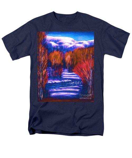 Winter Shadows  Men's T-Shirt  (Regular Fit)
