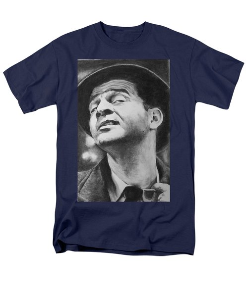 Men's T-Shirt  (Regular Fit) featuring the drawing Wise Guy by Rachel Hames
