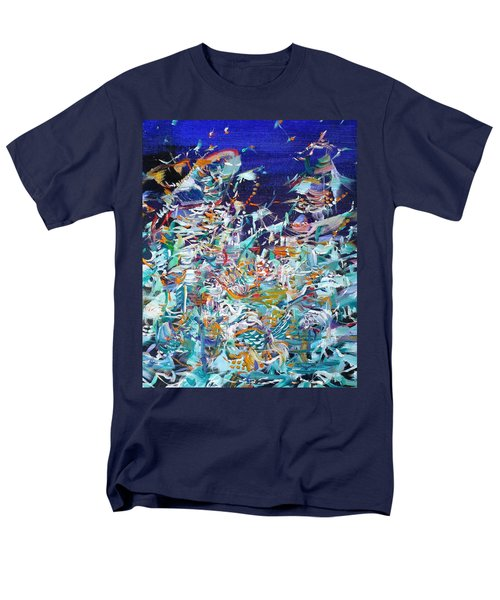 Men's T-Shirt  (Regular Fit) featuring the painting Wishes by Fabrizio Cassetta