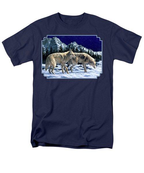 Wolves - Unfamiliar Territory Men's T-Shirt  (Regular Fit)
