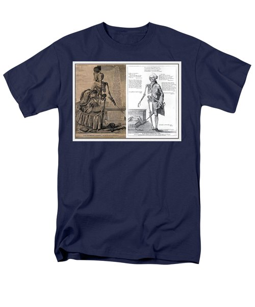 Men's T-Shirt  (Regular Fit) featuring the digital art Woman And A Man by Maciek Froncisz