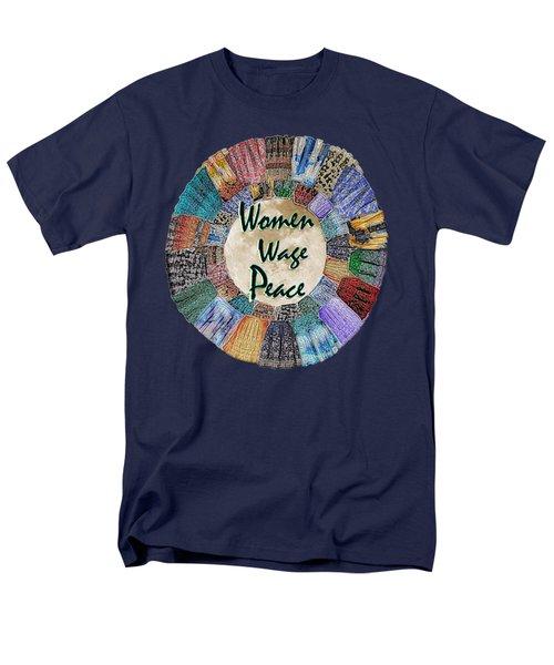 Women Wage Peace Men's T-Shirt  (Regular Fit) by Michele Avanti