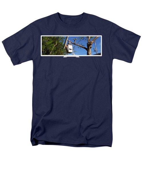 Woodland Tree Service Men's T-Shirt  (Regular Fit) by Evergreenarborists