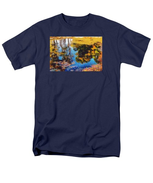 Woods In The Pond Men's T-Shirt  (Regular Fit) by Spyder Webb