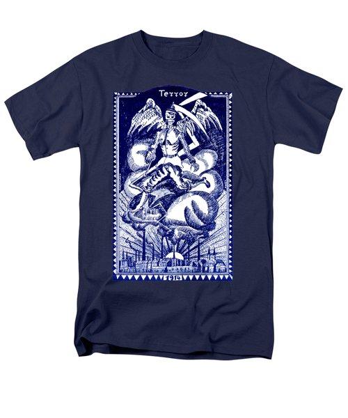 Wwi Dutch Anti War Poster Men's T-Shirt  (Regular Fit) by Historic Image