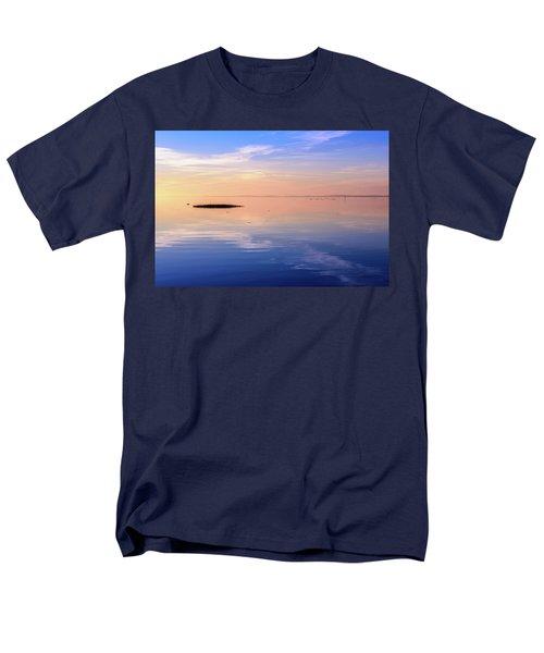 Xtra Blue Men's T-Shirt  (Regular Fit)