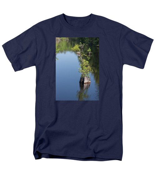 Men's T-Shirt  (Regular Fit) featuring the photograph Yawkey Wildlife Refuge - Cat Island by Suzanne Gaff