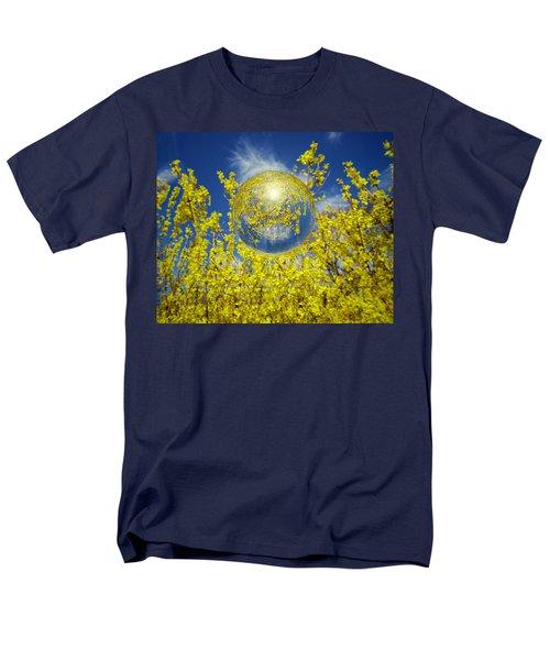 Men's T-Shirt  (Regular Fit) featuring the photograph Yellow by Robert Geary