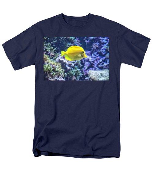 Yellow Tang Men's T-Shirt  (Regular Fit)