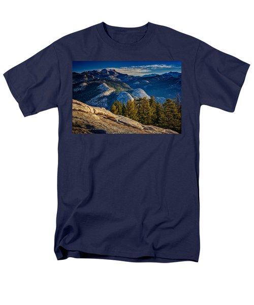 Yosemite Morning Men's T-Shirt  (Regular Fit) by Rick Berk
