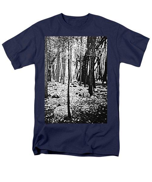 Yosemite National Park Men's T-Shirt  (Regular Fit) by Debra Lynch