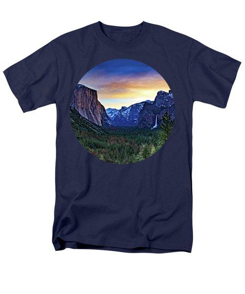 Yosemite Sunrise Men's T-Shirt  (Regular Fit) by Adam Morsa