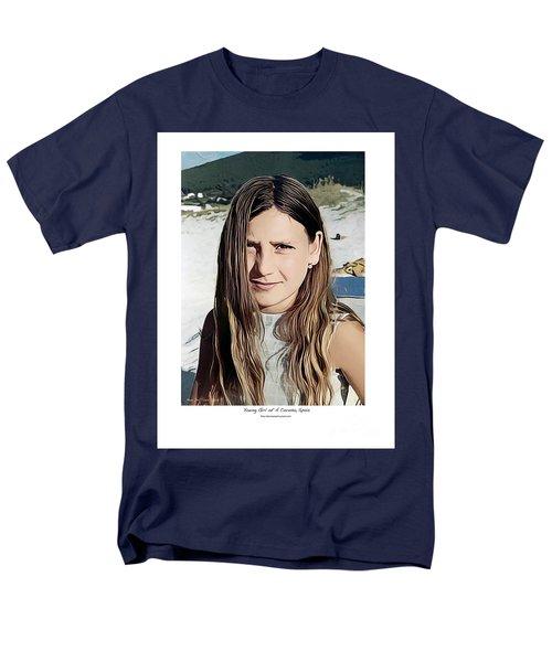 Young Girl, Spain Men's T-Shirt  (Regular Fit)