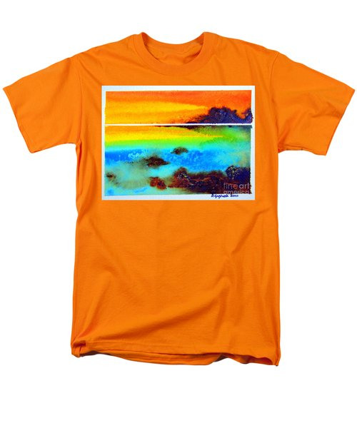 Western Australia Ocean Sunset Men's T-Shirt  (Regular Fit)