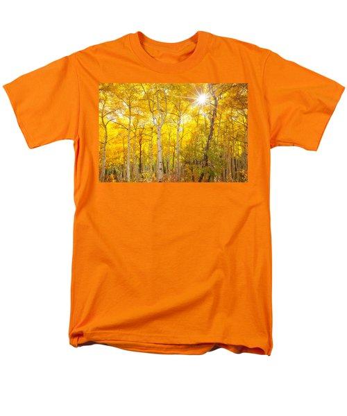 Aspen Morning Men's T-Shirt  (Regular Fit) by Darren  White