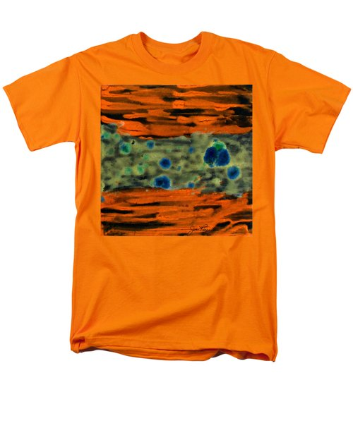 Men's T-Shirt  (Regular Fit) featuring the painting Autumn Breeze by Joan Reese