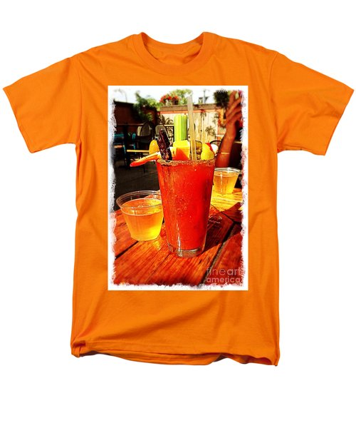 Morning Bloody Men's T-Shirt  (Regular Fit) by Perry Webster