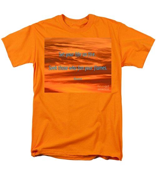 120- Rumi Men's T-Shirt  (Regular Fit) by Joseph Keane