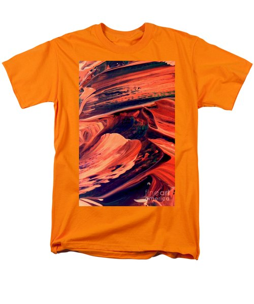 Men's T-Shirt  (Regular Fit) featuring the painting Catalyst by Jacqueline McReynolds