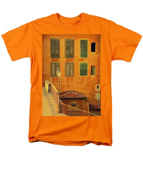 Medieval Windows Men's T-Shirt  (Regular Fit) by Caroline Stella