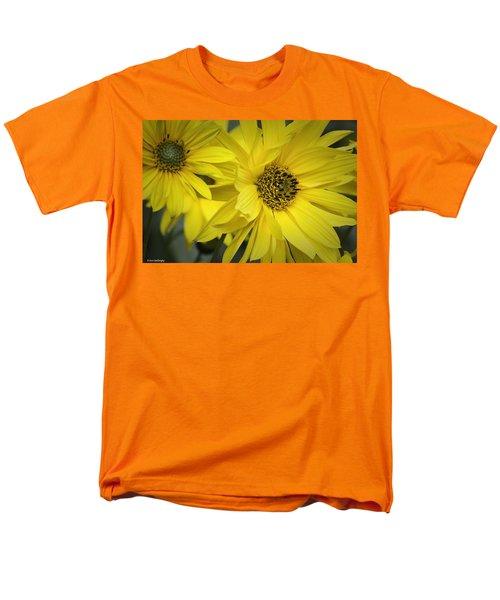 Sunflowers Men's T-Shirt  (Regular Fit) by Fran Gallogly