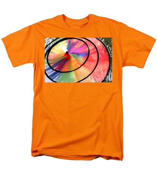 Men's T-Shirt  (Regular Fit) featuring the photograph Wind Wheel by Henrik Lehnerer