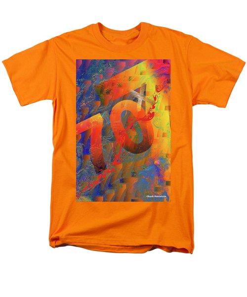 70 X 7 Men's T-Shirt  (Regular Fit) by Chuck Mountain