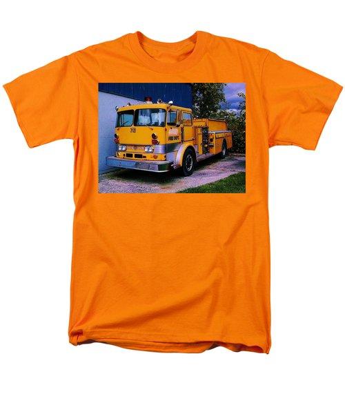 Men's T-Shirt  (Regular Fit) featuring the photograph 710 ....... Fire Dept. by Daniel Thompson