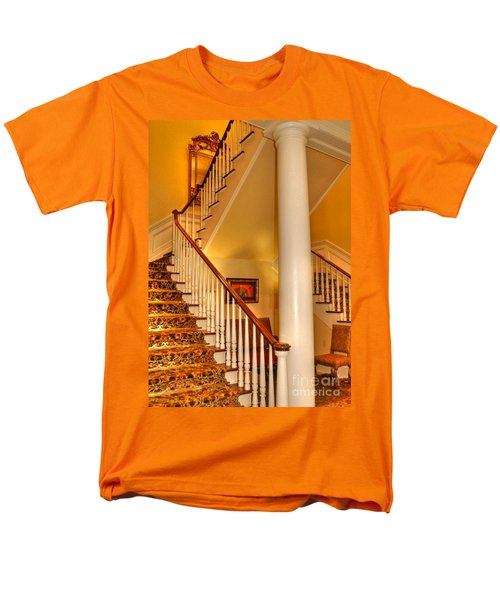 Men's T-Shirt  (Regular Fit) featuring the photograph A Bit Of Southern Style by Kathy Baccari
